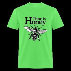 Time is Honey Beekeeper T-Shirt - Men's T-Shirt