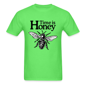 Time is Honey Beekeeper T-Shirt - Men's T-Shirt