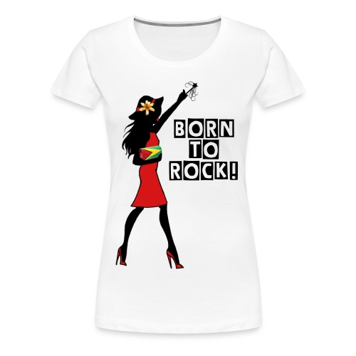 Born to Rock Women Top - Women's Premium T-Shirt