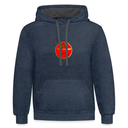 flash and arrow hoodie - Contrast Hoodie