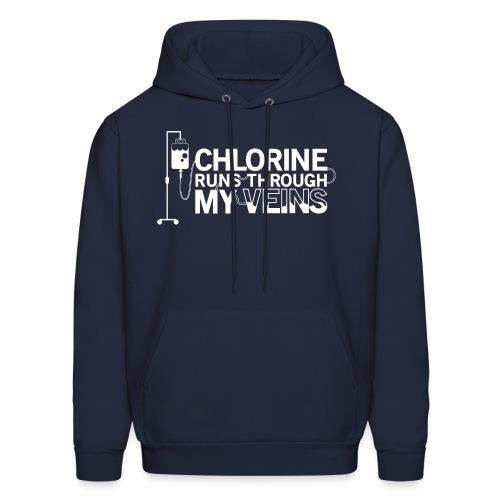 Chlorine Runs Through My Veins - Hoodie - Men's Hoodie