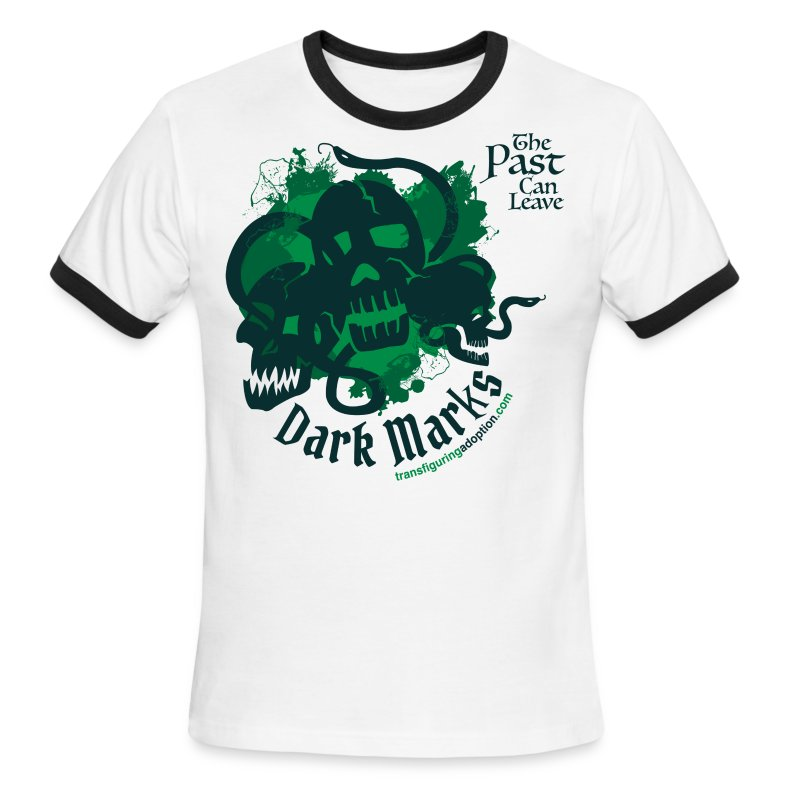 Past Leaves Dark Marks - Men's Ringer T-Shirt