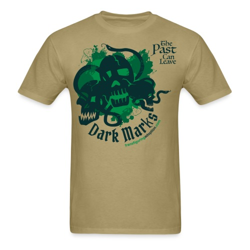 Past Leaves Dark Marks - Men's T-Shirt