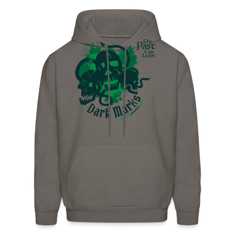 Past Leaves Dark Marks - Men's Hoodie