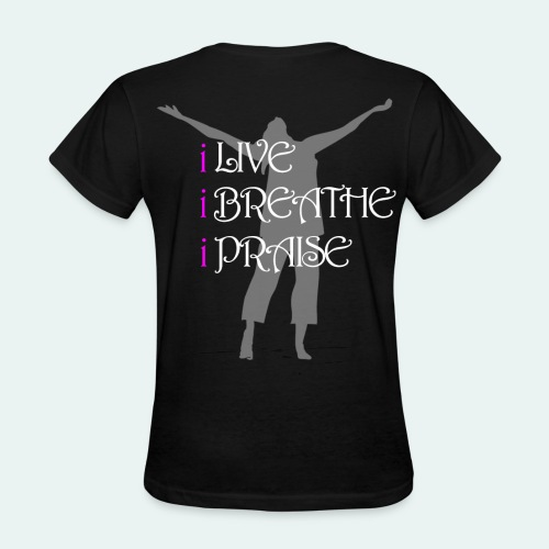 Because of Him - Women's T-Shirt