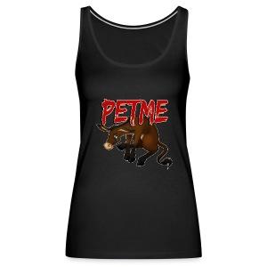 #PETME Sad Mule - Women's Premium Tank Top