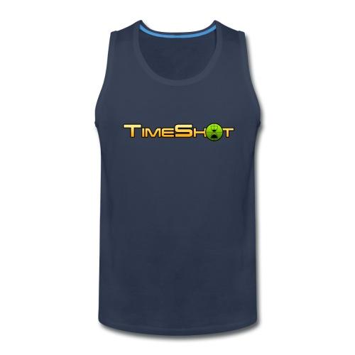 TimeShot Logo - Men's Premium Tank