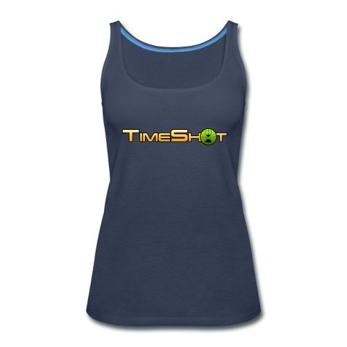 TimeShot Logo - Women's Premium Tank Top