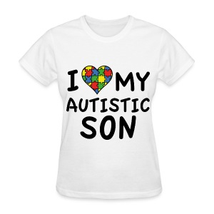 Autism HandPrint  - Women's T-Shirt