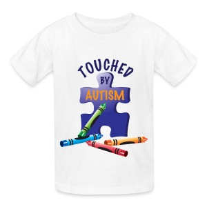 Touched by Autism - Kids' T-Shirt