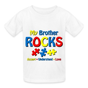 My Brother Rocks - Kids' T-Shirt