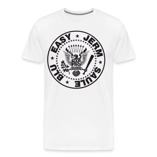 NAPFRO GANG (WHITE) - Men's Premium T-Shirt