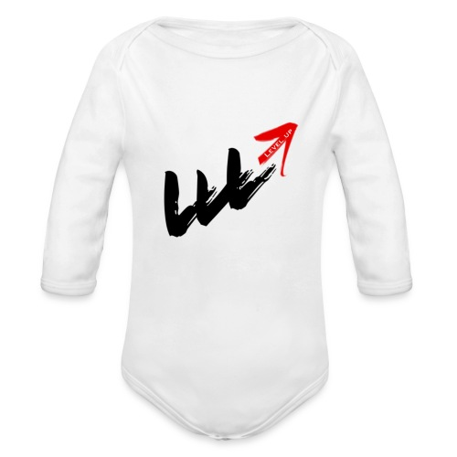LVL Up Long Sleeve Baby Suit - Organic Long Sleeve Baby Bodysuit