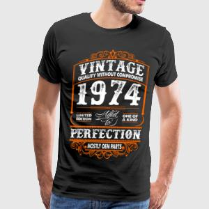 Vintage 1974 Perfection Mostly OEM Parts T-Shirts - Men's Premium T-Shirt