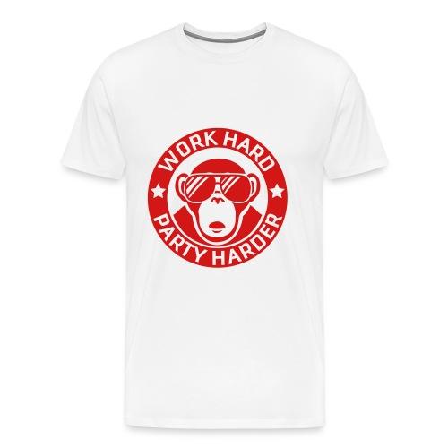 Party Harder - Men's Premium T-Shirt