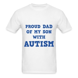 Proud Dad - Men's T-Shirt