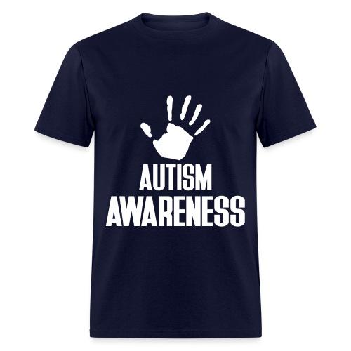 Autism Awareness Dad - Men's T-Shirt