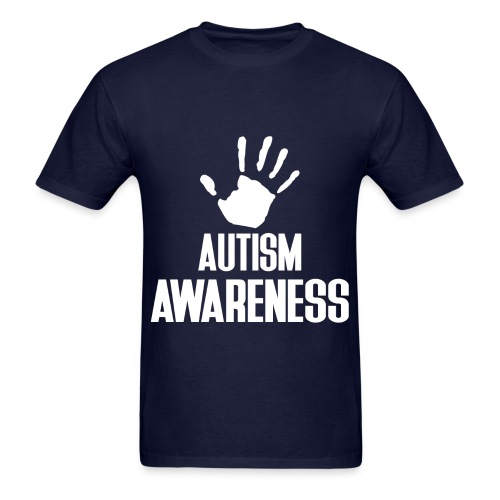 Autism Awareness Dad - Men's T-Shirt