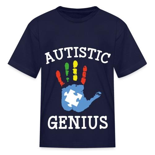 Autistic Genius - Kids' T-Shirt