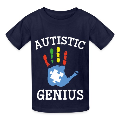 Autistic Genius - Kids' T-Shirt