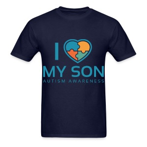 I love my Son ( mens) - Men's T-Shirt