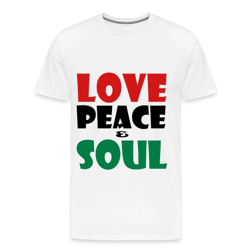 Love, Peace & Soul - Men's Premium T-Shirt