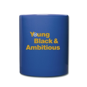 YBA Coffee Mug - Blue and Gold - Full Color Mug