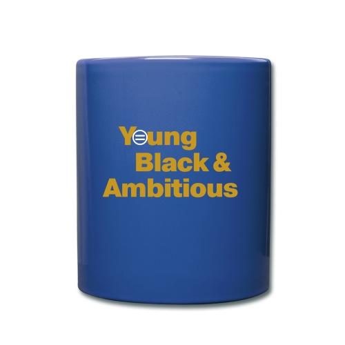 YBA Coffee Mug - Blue and Gold - Full Color Mug