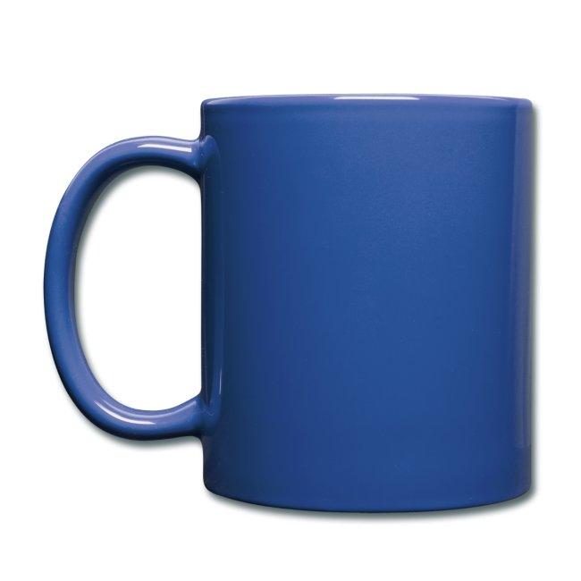 YBA Coffee Mug - Blue and Gold