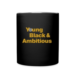YBA Coffee Mug - Black and Gold - Full Color Mug