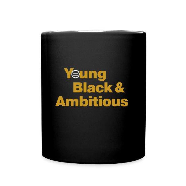 YBA Coffee Mug - Black and Gold