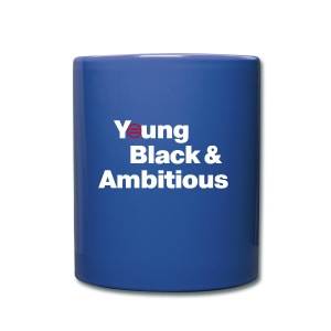 YBA Coffee Mug - Blue and White (Red Logo) - Full Color Mug