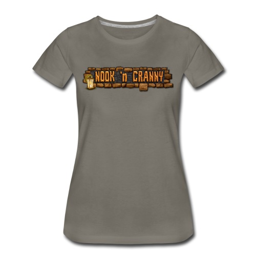 Nook 'n Cranny Logo Tee - Women's Premium T-Shirt