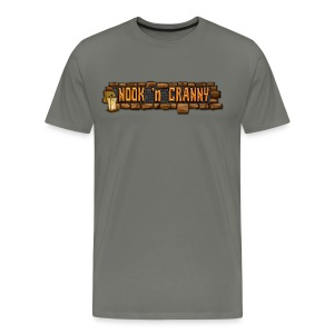 Nook 'n Cranny Logo Tee - Men's Premium T-Shirt