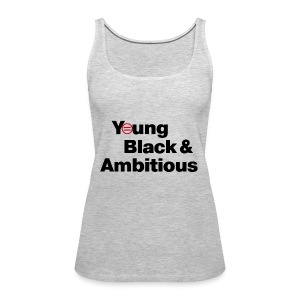 YBA Women's Tank - Gray - Women's Premium Tank Top