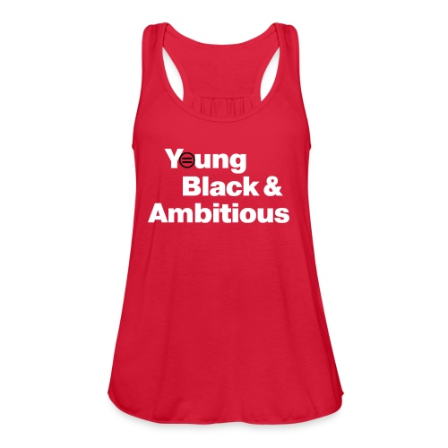 YBA Flowy Tank (Women) - Red - Women's Flowy Tank Top by Bella