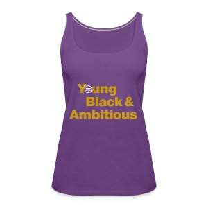 YBA Women's Tank - Purple - Women's Premium Tank Top