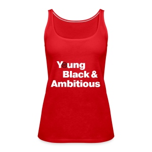 YBA Women's Tank - Red - Women's Premium Tank Top