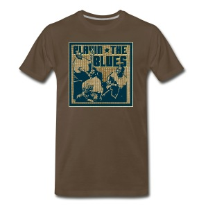 playing the blues - Men's Premium T-Shirt