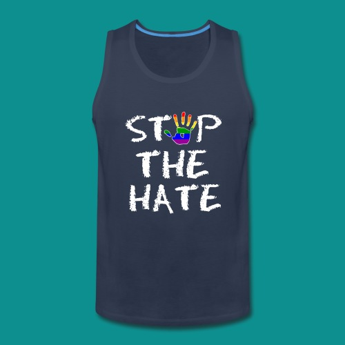 Gay Pride Stop the Hate - Men's Premium Tank