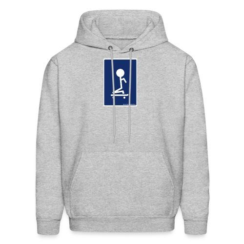 I can't stand skating Logo Hoodie - Men's Hoodie