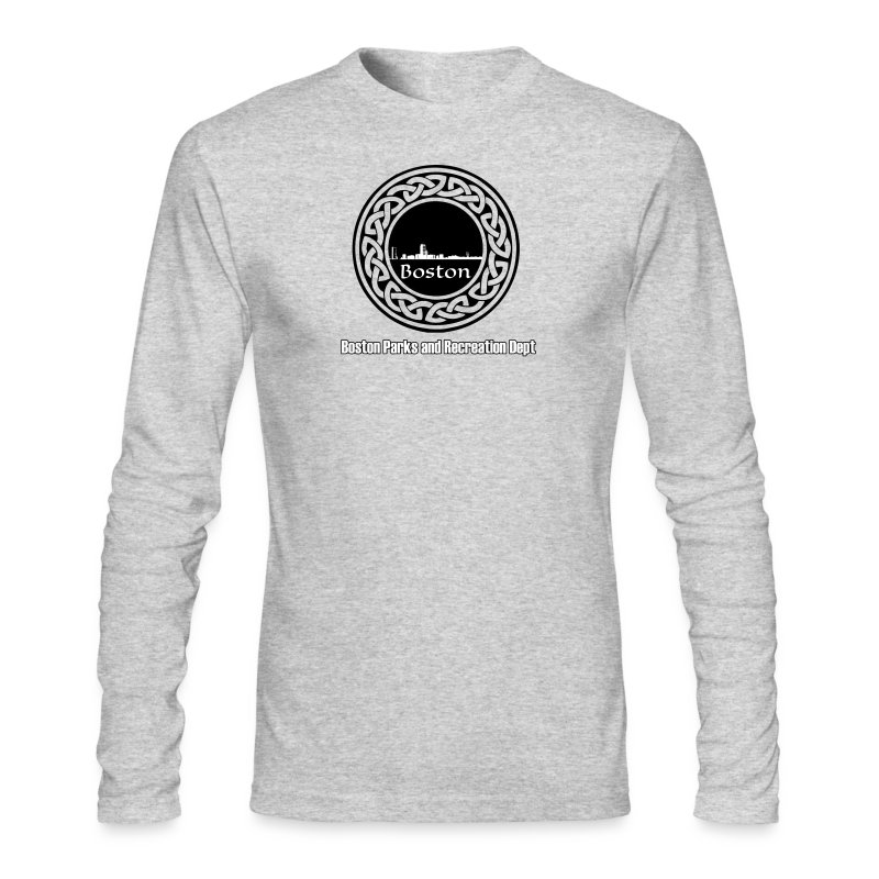 Boston_Parks_Knot - Men's Long Sleeve T-Shirt by Next Level