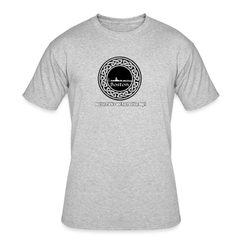 Boston_Parks_Knot - Men's 50/50 T-Shirt