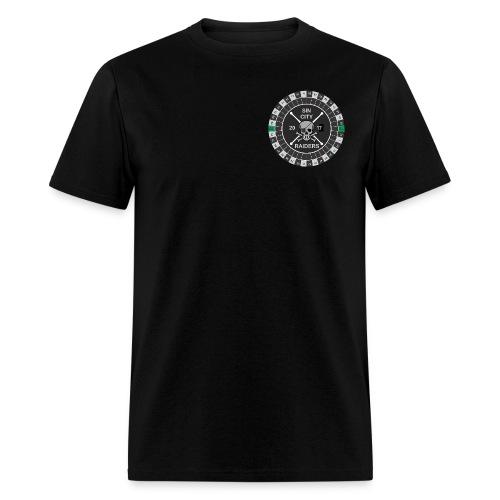 Sin City Raiders Roulette pkt - Men's T-Shirt