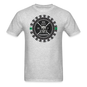 Sin City Raiders Roulette - Men's T-Shirt