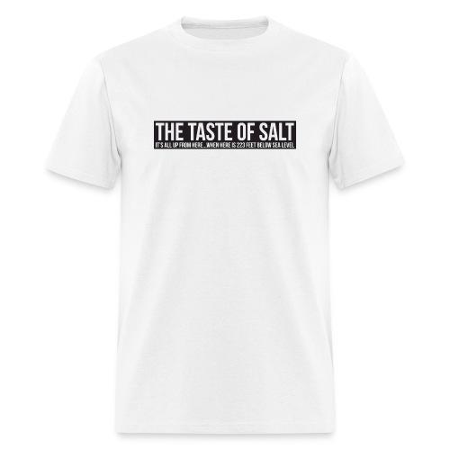 High Contrast White Tee - Men's T-Shirt