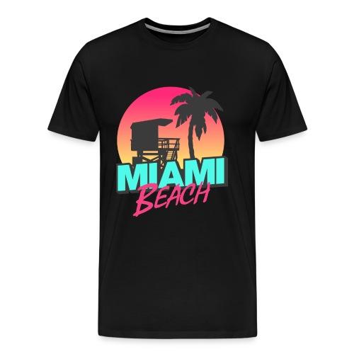 Miami Tee - Men's Premium T-Shirt