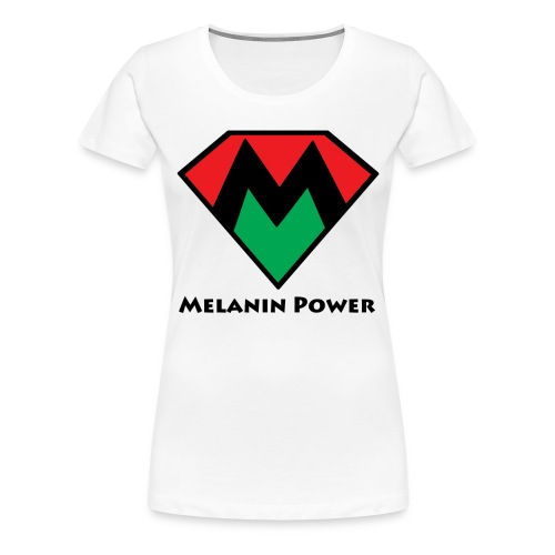 Melanin Tee - Women's Premium T-Shirt