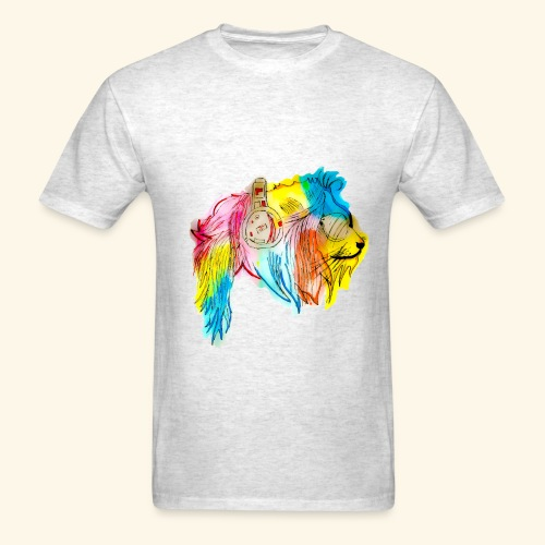 Color lion - Men's T-Shirt
