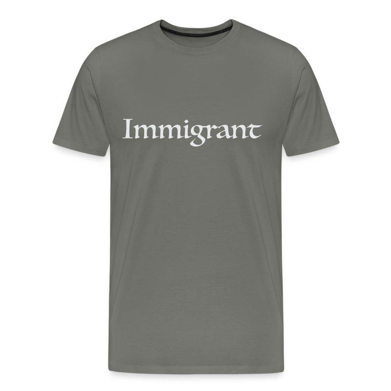 Immigrant Tee (Unisex) - Men's Premium T-Shirt